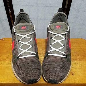 Nike dual racer mushroom crimson sneakers 13